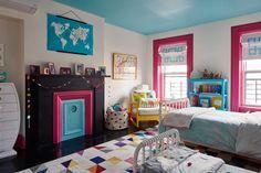 A Landmarked Park Slope Brownstone Awakens With Vibrant Color, on Design*Sponge