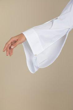 Parachute Sleeve Cotton Shirt Palmer Harding, Poplin, Fitness Models, Sleeve, Fabric, Cotton, Shirts, Fashion, Manga