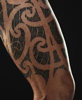 Ta moko: Maori tattoos - associated with cultural identity, ancestry and applications are sacred.