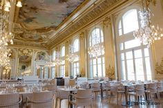 Tom and I had an afternoon snack here!  Musee d'Orsay Restaurant, Paris
