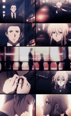 Gilbert and Violet Manga Anime, Sad Anime, Me Me Me Anime, Kawaii Anime, Anime Art, Violet Evergarden Gilbert, Armin, Digimon, Otaku