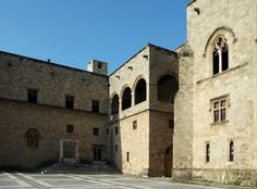 Le palais des Grands Maîtres à Rhodes