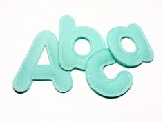 Topstitch Letters