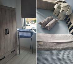 In deze blog zie je foto's van de babykamer van Levi en vertelt zijn moeder over deze babykamer. De stoere meubeltjes zijn van de babykamer Sem Nautic Grey en zijn gekocht bij Babypark.