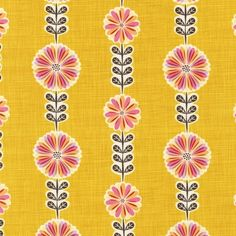 Kimberling Just Dandy Bloom Stripe Petunia--love this fabric! If I have a girl I'm going to make a car seat tent out of it!