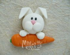 1 million+ Stunning Free Images to Use Anywhere Polymer Clay Animals, Cute Polymer Clay, Cute Clay, Fimo Clay, Polymer Clay Charms, Clay Crafts, Diy And Crafts, Fondant Animals, Easter Cupcakes