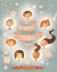 The Seven Princesses Blog Tour — Kid Lit Frenzy