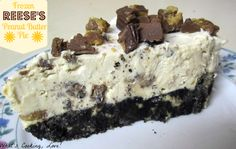 Whats Cooking, Love?: Frozen Reeses Peanut Butter Pie