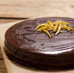 Receta de bizcocho de chocolate y naranja / Torta o Pastel de chocolate y naranja / Chocolate and orange cake recipe