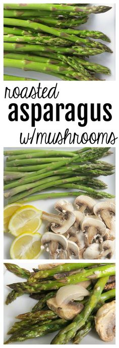 Asparagus, Mozzarella and Appetizers
