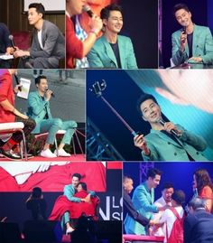 Jo In Sung charms fans at meeting in Thailand
