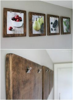 Clipboard Gallery Wall - 20 Cleverly Creative Ways to Display Your Cherished Photos