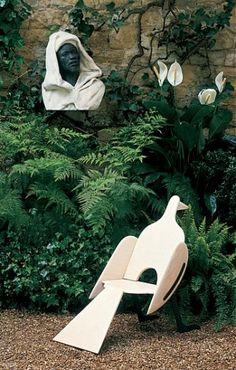 Yves Saint Laurent garden in Paris.