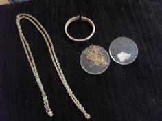 Unusual 1960s victorian revival style glass locket by LuluBrandy, £25.00