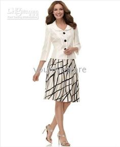 women's skirt suits brown - Google Search