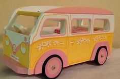 Le Toy Van camper Wooden Dolls Great Condition Hand Crafted WOW | eBay