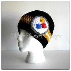Pittsburgh STEELERS / Team Color Stripes / by KariesCrochetDesigns on etsy