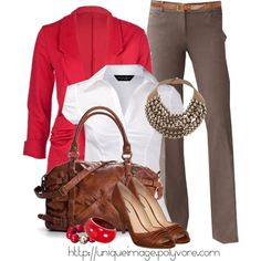 Work Outfits | Textured Brown Pants | Fashionista Trends
