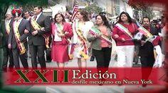 INVITACIÓN XXII EDICIÓN DEL DESFILE MEXICANO EN MANHATTAN