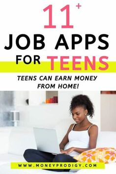 Jobs apps for teens that will help with how to find a job as a teenager. These are apps that pay teens as well as help them job hunt. Apps For Teenage Girls, Apps For Teens, Teen Apps, Online Surveys For Money, Earning Money, Making Money Teens, Apps That Pay, Teen Money, List Of Jobs