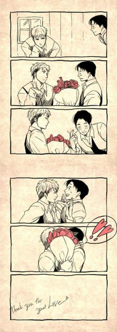 Jean is Marco's 'other half' T^T  *cries* *dies* *cries some more*