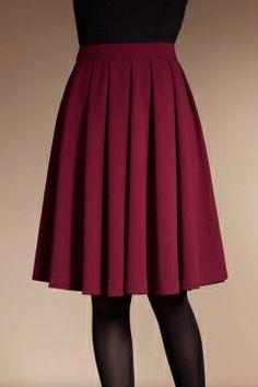 $51.99  / Moonbasa Elegant Pleated Midi Skirt