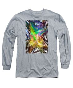 Long Sleeve T-Shirt - Abstract 9618
