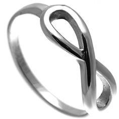 Stainless Steel Ring With Infinity Symbol ($8.75) ❤ liked on Polyvore featuring jewelry, rings, stainless steel rings, stainless steel jewellery, infinity ring, stainless steel jewelry ve infinity jewelry