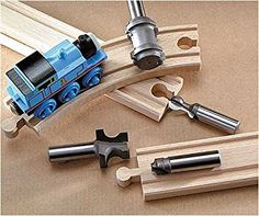 MLCS Train Track Bit Set (4 piece)