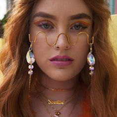 Check out our newest festival maximalist collection featuring our festival favorites, perfect for up Cute Jewelry, Jewelry Accessories, Fashion Accessories, Fashion Jewelry, Jewelry Design, Face Jewellery, Body Jewelry, Spiderbite Piercings, Fashion Eye Glasses