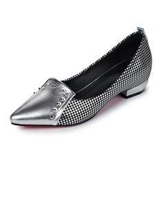 Mulheres Sapatos de salto Salto baixo Couro Sapatos Metallic Shoes, Loafers, Fashion, Low Heels, Ladies Accessories, Leather, Women's Work Fashion, Women, Outfits