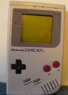 Vintage Gameboy 1989 With Bo Jackson Game