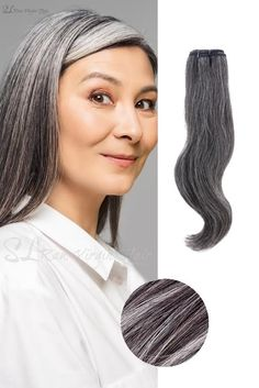 Embrace your gray hair with our premium Vietnamese Natural Gray hair extensions. These double-drawn weft bundles are straight from the countryside of Vietnam. If this is your first time trying Vietnamese hair you'll be very impressed with how thick this hair is from weft to the ends. This hair is 100% natural gray with… Grey Hair Bundles, Grey Hair Extensions, Hair Meaning, Latest Hair Trends, Hair Weft, Hair Transformation, About Hair, Gray Hair, 100 Human Hair