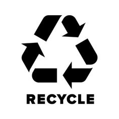 Is the recycling logo recyclable?