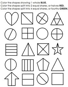 math worksheet : 1000 ideas about fractions worksheets on pinterest  fractions  : Fractions For Kindergarten Worksheets