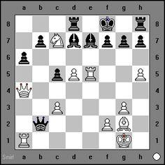 White to move and win. Sutovsky vs Sebastian Van Esch, Budapest, 1992 www.chess-and-strategy.com #echecs #chess