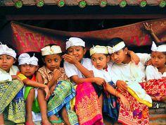 Balinese children Bali Floating Leaf Eco-Retreat. http://balifloatingleaf.com/