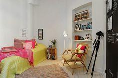 - A Vivid Scandinavian Apartment  <3 <3