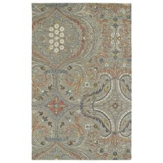 Christopher Taupe Classique Hand-Tufted Rug (10'0 x 14'0) | Overstock.com Shopping - The Best Deals on 7x9 - 10x14 Rugs