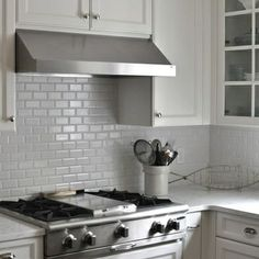 Grey Backsplash matte grey subway tile | gray subway tile backsplash design ideas