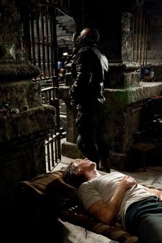 The Dark Knight Rises - thrown into a pit threw the self-righteousness of others, sometimes you feel like you should just lay down and not partake in things... But it does not mean defeat is accepted and...