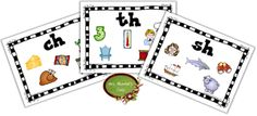 Digraph Posters - ch, th, sh (free)