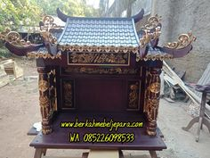 Jual Altar Sembahyang Leluhur Jakarta   BERKAH MEBEL JEPARA Batam, Jakarta, Feng Shui, Decorative Boxes, China, Altars, Altar, Decorative Storage Boxes, Porcelain