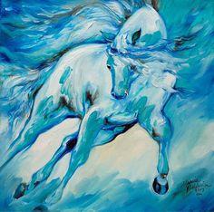 """""""Azure Run"""" par Marcia Baldwin"""