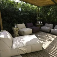 Soft chaise longue by Puffone Gart | www.lovethesign.com/uk