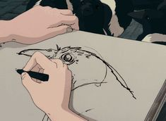 Animated gif shared by ⋰˚☆. Find images and videos about gif, anime and studio ghibli on We Heart It - the app to get lost in what you love. Old Anime, Manga Anime, Anime Art, Hayao Miyazaki, Anime Body, Anim Gif, Poses References, Animation, Aesthetic Gif