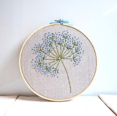 Paper Embroidery, Hand Embroidery Stitches, Embroidery Hoop Art, Crewel Embroidery, Hand Embroidery Designs, Embroidery Ideas, Hand Embroidery Flowers, Japanese Embroidery, Vintage Embroidery Patterns