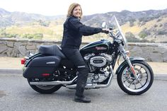 Review of the 2016 Harley Davidson Sportster SuperLow 1200T.  Perfect for women riders!