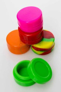 Non-stick Storage Silicone Container pcs) Smoking Accessories, Water Pipes, Bongs, Wax, Container, Storage, Life, Purse Storage, Larger