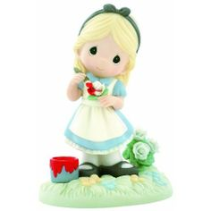 "Amazon.com: Precious Moments Disney ""You Make My World A Wonderland"" Figurine: Home & Kitchen"